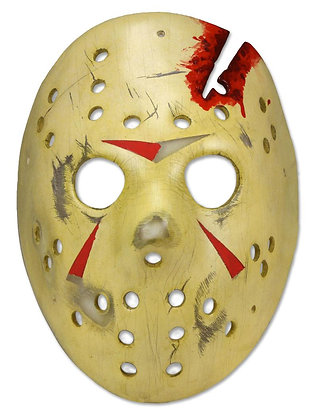 MASCARA JASON Prop Replica Friday the 13th:The Final Chapter NECA