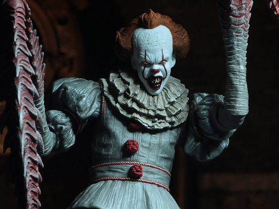 """IT 2017 Pennywise (Dancing Clown) Ultimate 7"""" NECA"""