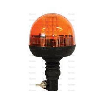 Lampeggiante LED 12/24V Perno Flessibile (ECE Reg 10 / IP55)