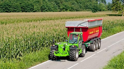 Merlo trasporto cereali sicilia volatile Bernardo