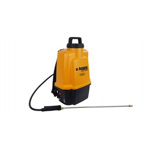 Pompa elettrica Volpi Black Elektron da 12 Lt con batteria al litio 12V - VOLPI