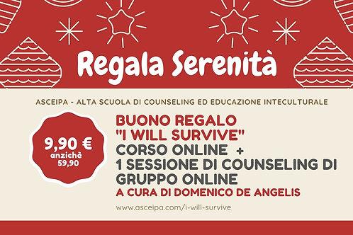 """Corso Online """"I Will Survive"""" + Una seduta di Counseling di Gruppo"""