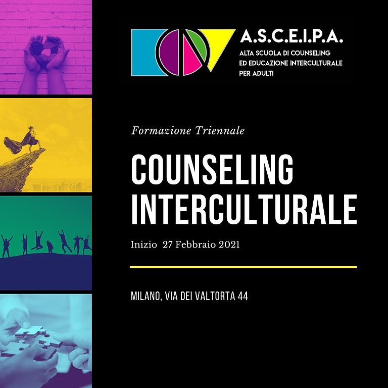 Inizio Corso Triennale in Counseling Interculturale