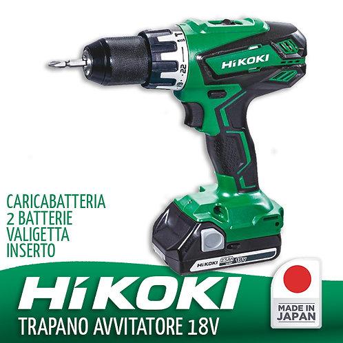 Trapano Avvitatore 18v Con Percussione Hikoki HDV18DGAL