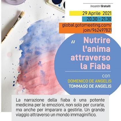 """Webinar gratuito - """"Nutrire l'anima attraverso la Fiaba"""" 29 aprile"""