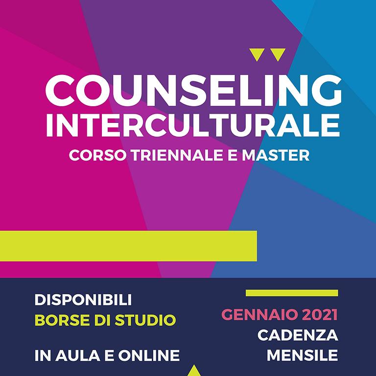 Anno Accademico 2021 - Master e Corso Triennale in Counseling Interculturale