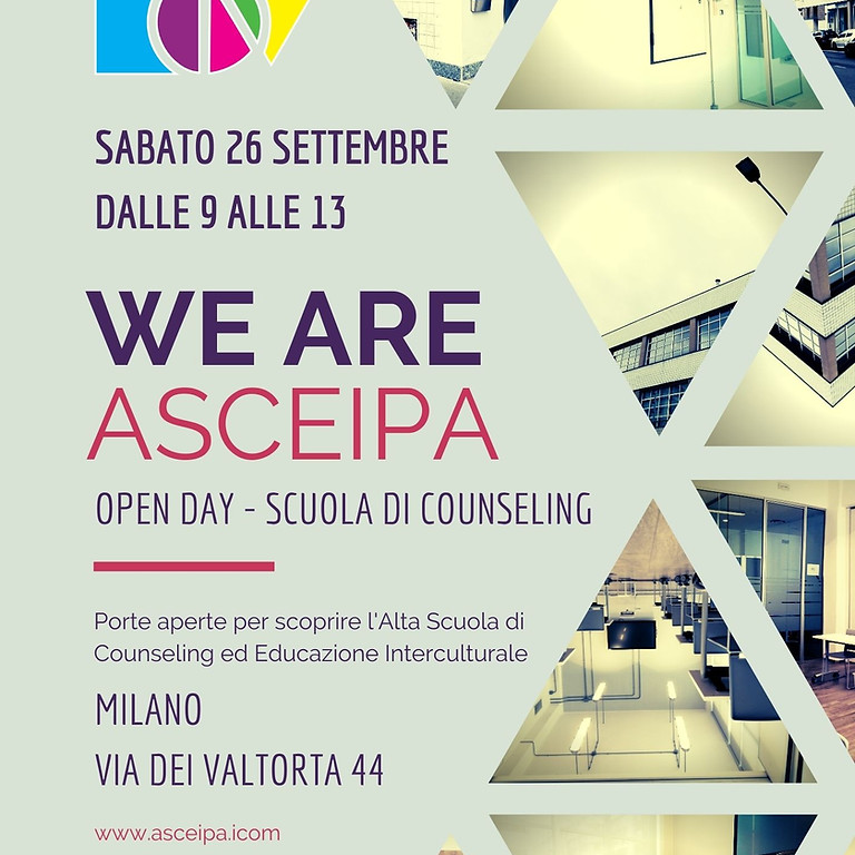 Open day - We are ASCEIPA - Scuola di Counseling