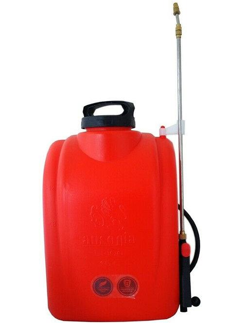 AUSONIA 38019 Pompa a spalla a batteria 12 lt. irrorazione giardinaggio orto
