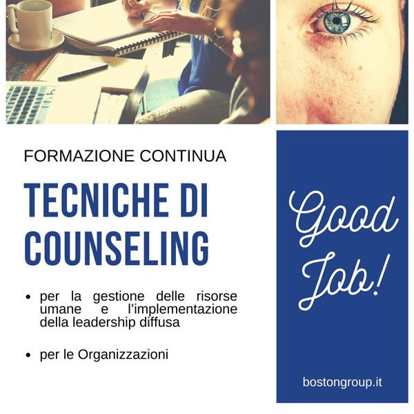 Formazione Finanziata - Tecniche di Counseling