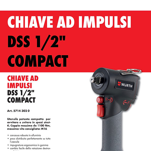 """Chiave ad impulsi DSS 1/2"""" Compact"""