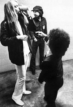 Leon and George Harrison