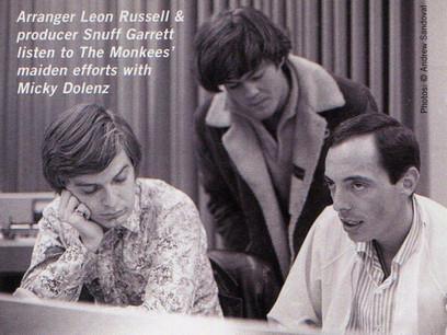 Leon, Snuff Garrett, and Mickey Dolenz