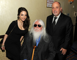 Leon with Billy Joel and daughter Alexa Rae