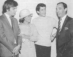 Leon, Gary and Patti Lewis, and Snuff Garrett