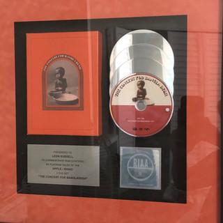 Concert for Bangladesh Certified Platinum