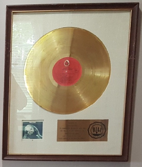 Leon Russell and the Shelter People RIAA Certified Gold