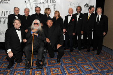 Leon's Songwriters Hall Of Fame Induction with Garth Brooks, Jimmy Webb, Hal David, Billy Steinberg, Barry Mann, Cynthia Weil, Linda Moran, Ervin Drake, Allen Touissant, Tom Kelly, and John Bettis