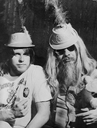 Leon and Gary Busey