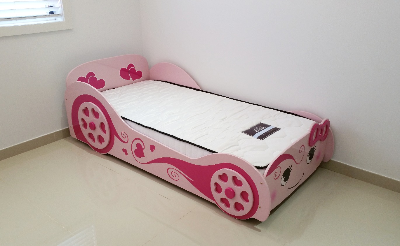 Kids Car Bed Assembly