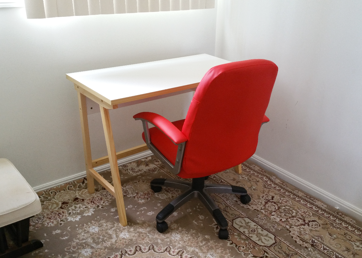 Desk & Chair Assembly