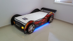 Racing Car Bed Assembly