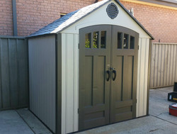 Outdoor Garden Shed Assembly
