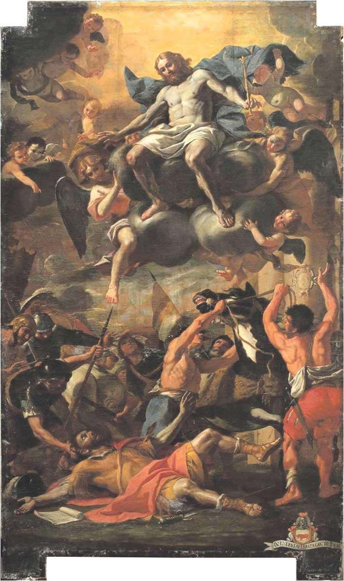 """Conversion of St Paul"" painting"