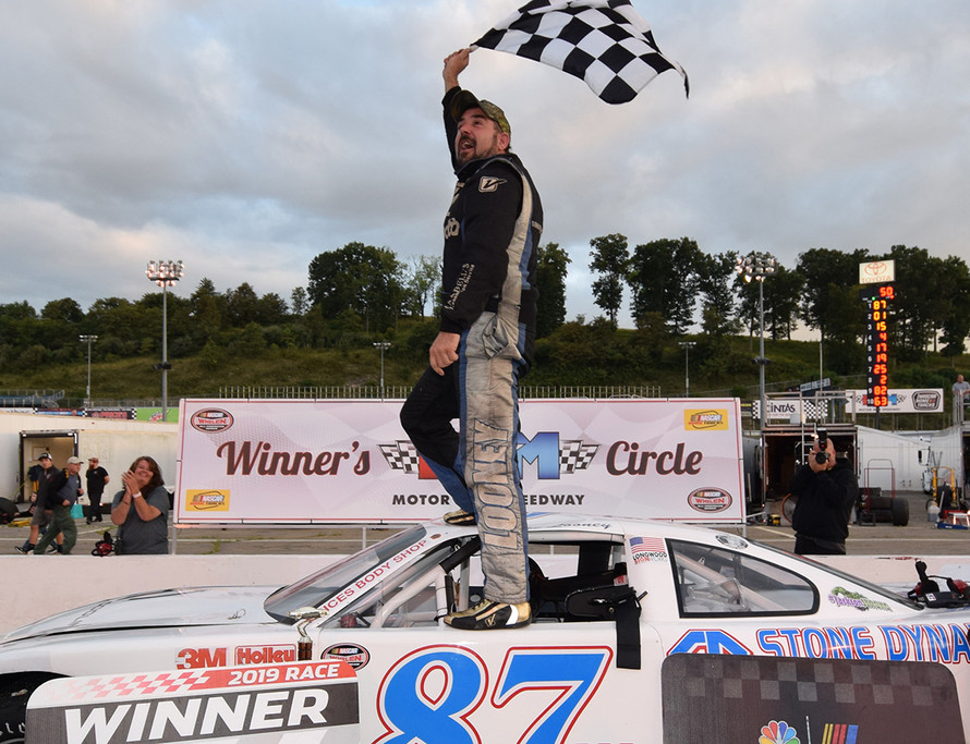 LOONEY TOPS IN LATE MODEL TWINBILL