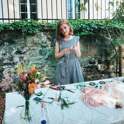 """Atelier DIY """"Bouquet de fleurs fraîches"""" avec Pampa"""