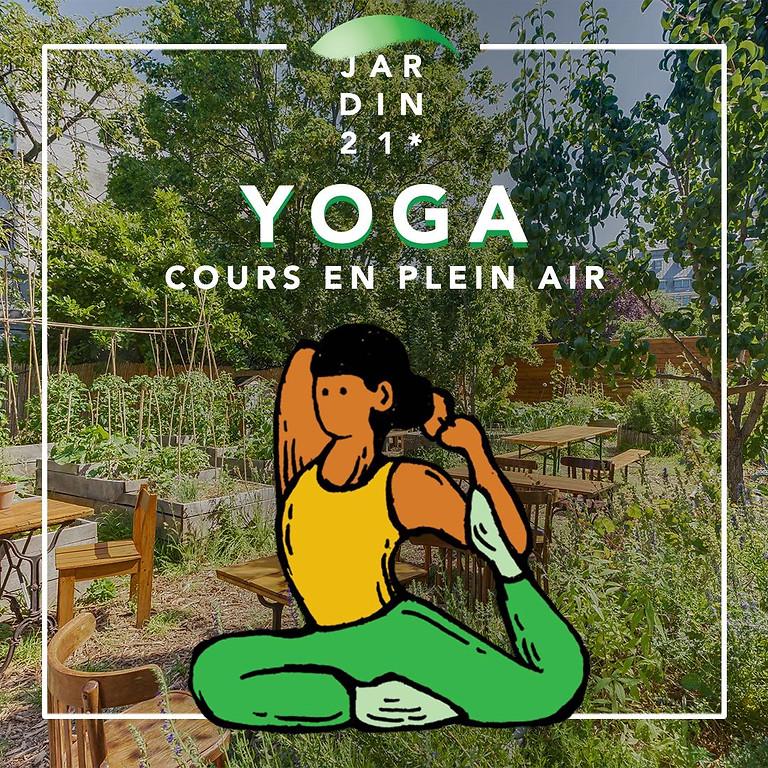 Cours de Yoga Yin & Yang avec Clarelle