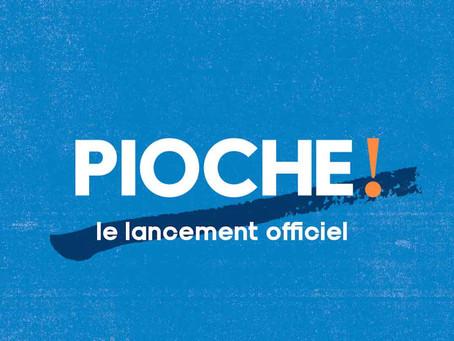 We Love Green, Socksial Club et Girl Go Green réunis pour le lancement du magazine Pioche!