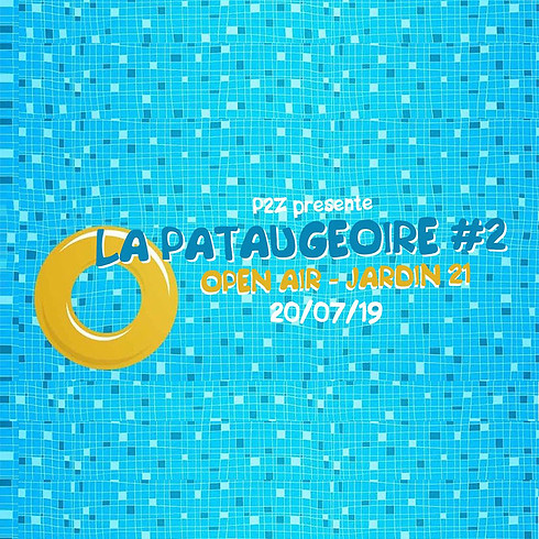 La Pataugeoire by P2Z : ça s'ambiance discotechno !
