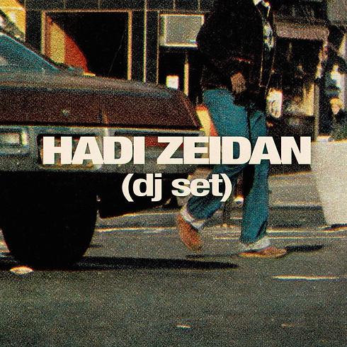 Hadi Zeidan all night long avec Global Grooves & Cocktails