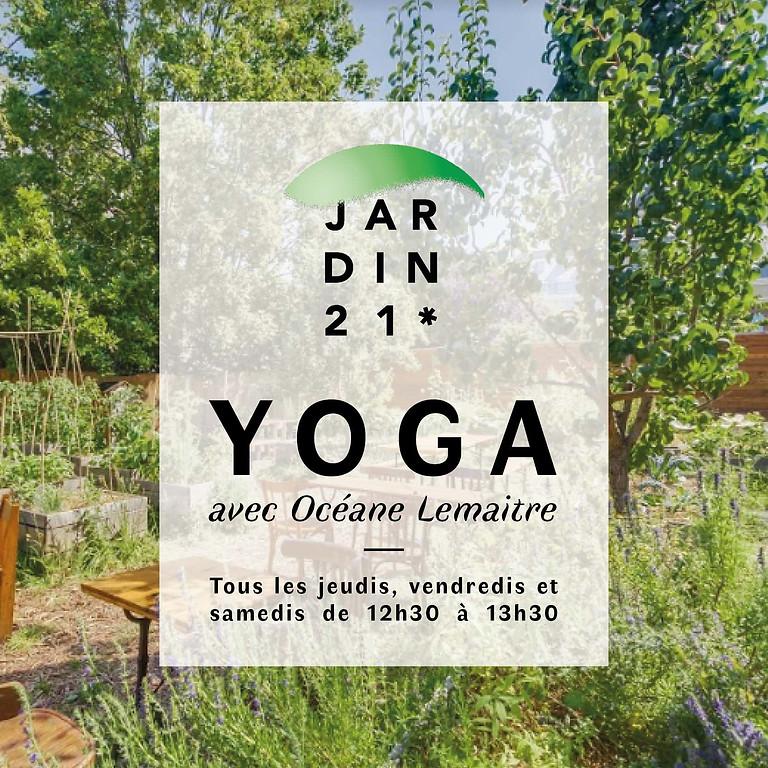 """Yoga spécial """"Santé du dos"""" avec Océane Lemaître"""
