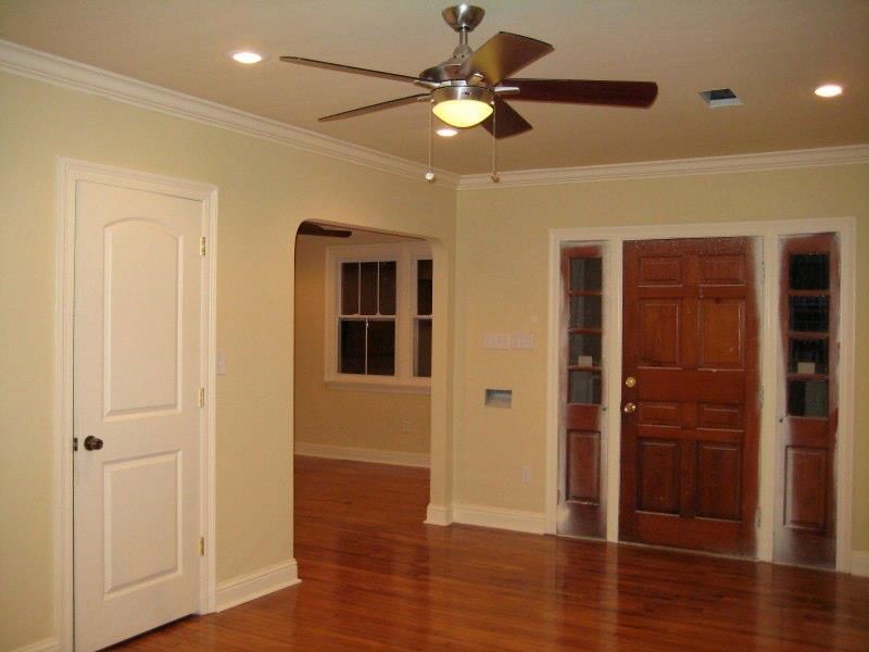 Entry - front door to living room