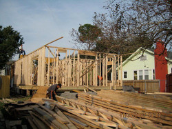 New foundation and framing