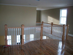 Second story landing - game room