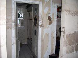 Hallway and bath