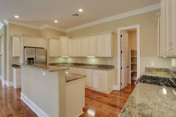 Kitchen - wood cabinets, granite, stainless