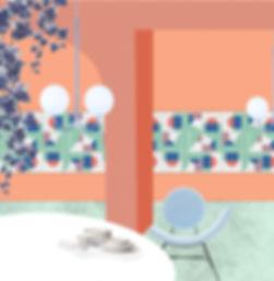 elisa passino home decor - tile design esedra arco capitello geometrie componibili