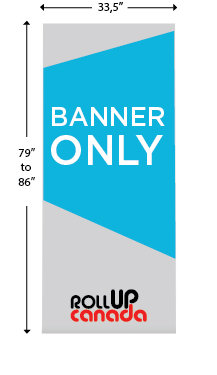 Deluxe 33'' x 86'' (Banner only)