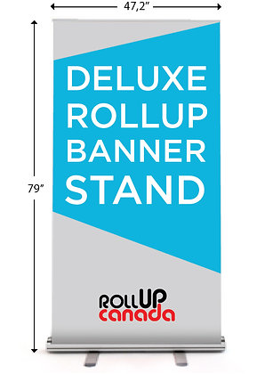 Deluxe 47,2'' x 79'' (Stand + Banner)