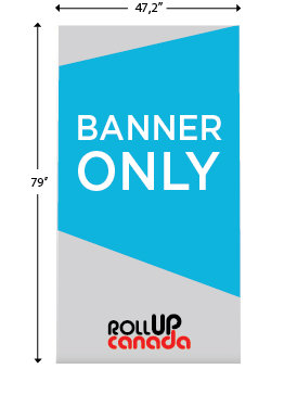 Deluxe 47'' x 79'' (Banner only)