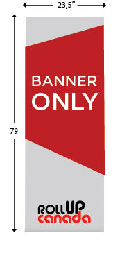 23.5'' x 79'' (Banner only)