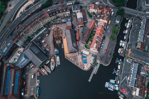 Underfall boat yard
