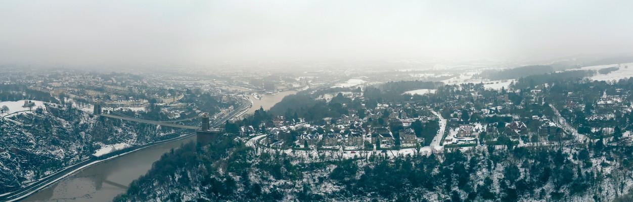 Leigh Woods Panorama