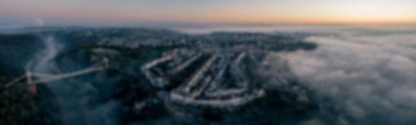 Bristol city panorama