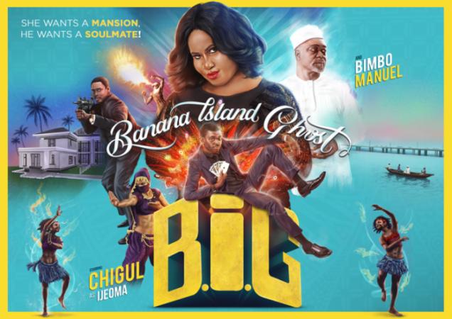 How Banana Island Ghost Grossed ₦35 Million Naira In Box Office