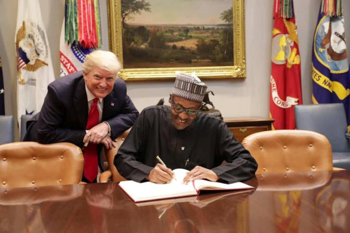 The Meeting Between White House And Aso Rock In Pictures
