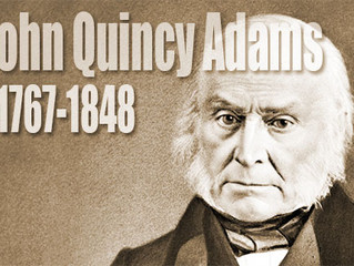 Jon Quincy Adams On Leadership